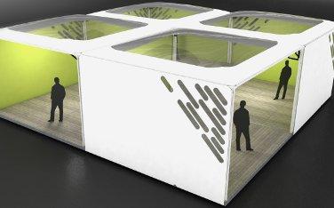 Zencube: Raumlösung im Baukastenprinzip