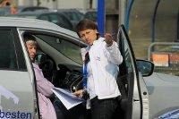 Agenturduo bei Hyundai-Roadshow
