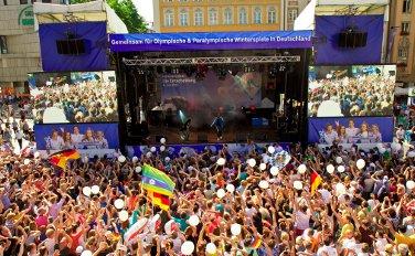 Eventpool bei Open-Air Fest zur IOC-Entscheidung