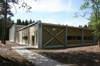 Neptunus errichtet temporäre Sporthallen