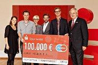 Sparkassen-Finanzgruppe übergibt 100.000 Euro