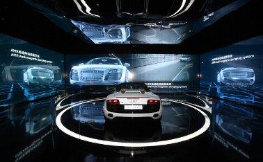 Eventreihe zur Markteinführung des Audi R8 Spyder