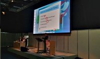 Präsentationssteuerung per Multi-Touch