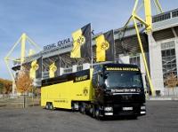 Borussia Dortmund erhält neues MAN Fanmobil