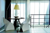 Faltbarer Designstuhl von Loungekonzept
