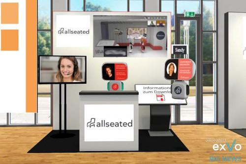 allseated launcht Plattform exVo