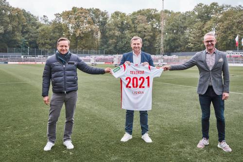 Deutsche Telekom wird Partner des 1. FC Köln