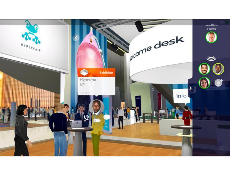 Virtuelle Plattform: Newton21 bietet Hyperfair auch in Deutschland an