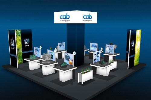 Agentur Netzbewegung entwickelt virtuellen Messestand für cab