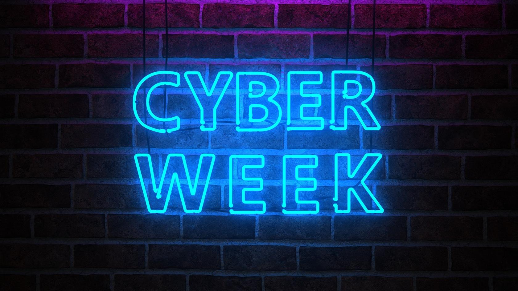 Cyber Week Angebot auf ausgewählte Weiterbildungen