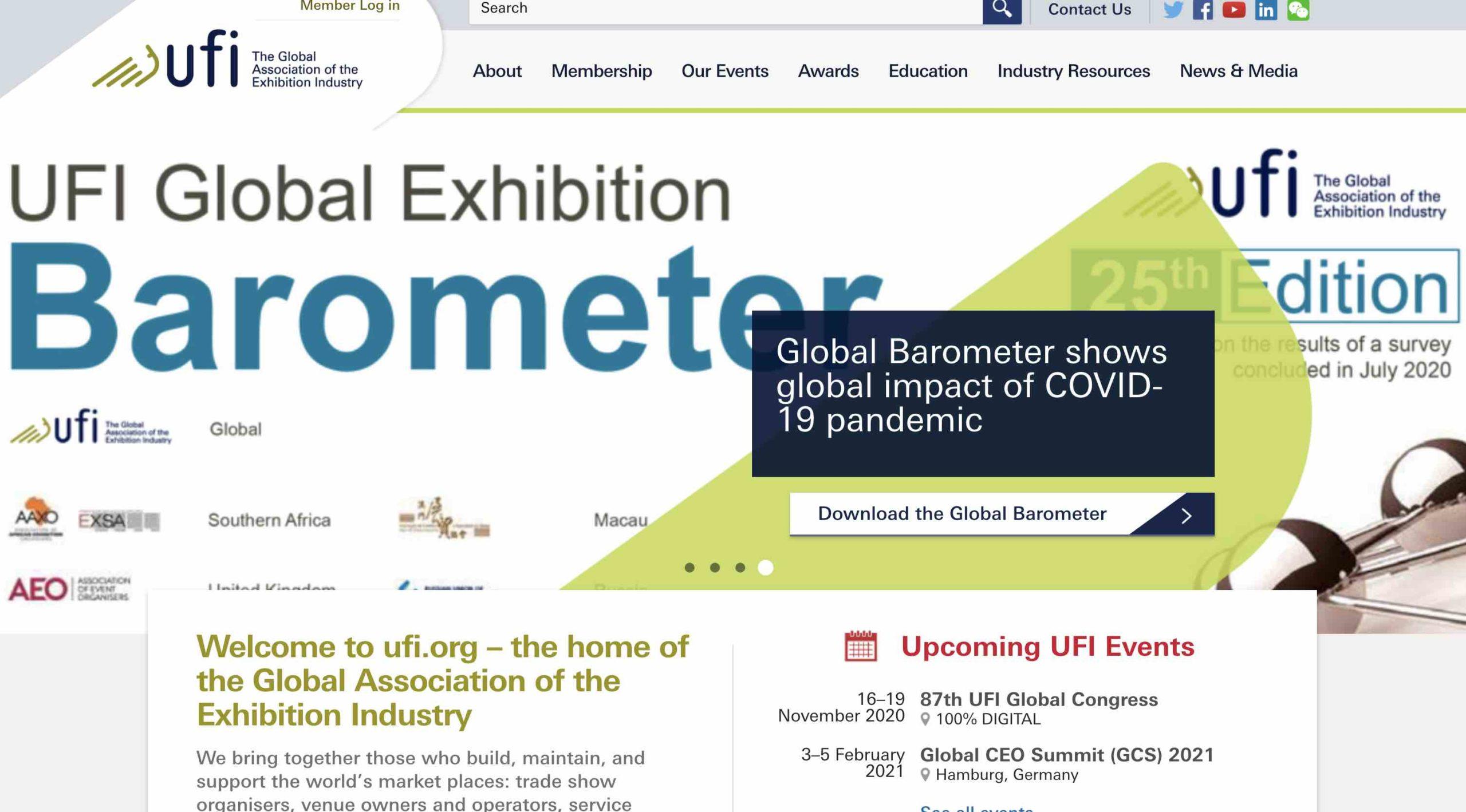 Digitaler UFI Global Congress vom 16. bis 19. November
