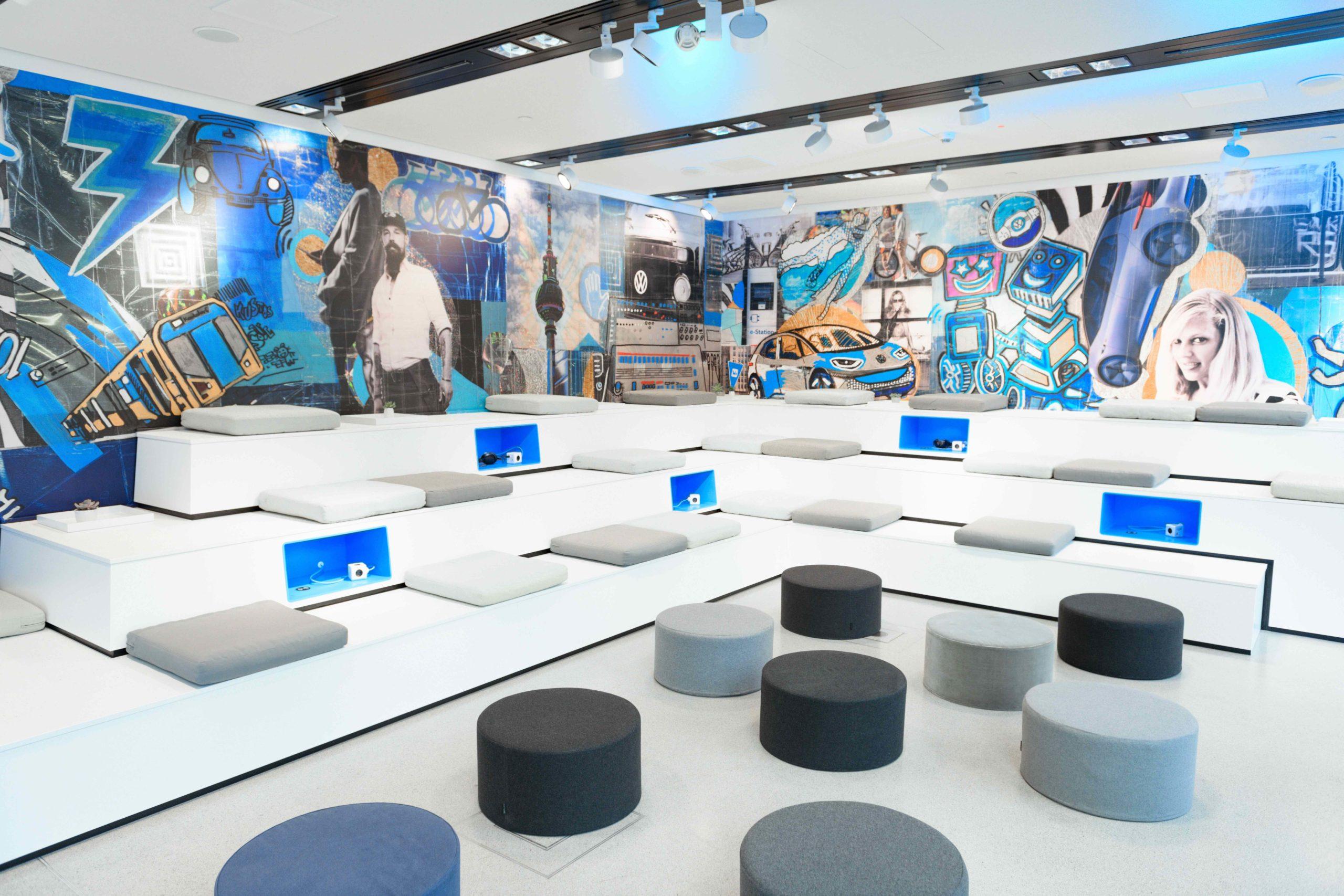 Spreefreunde installieren We Space Pop-up Store in Wolfsburg