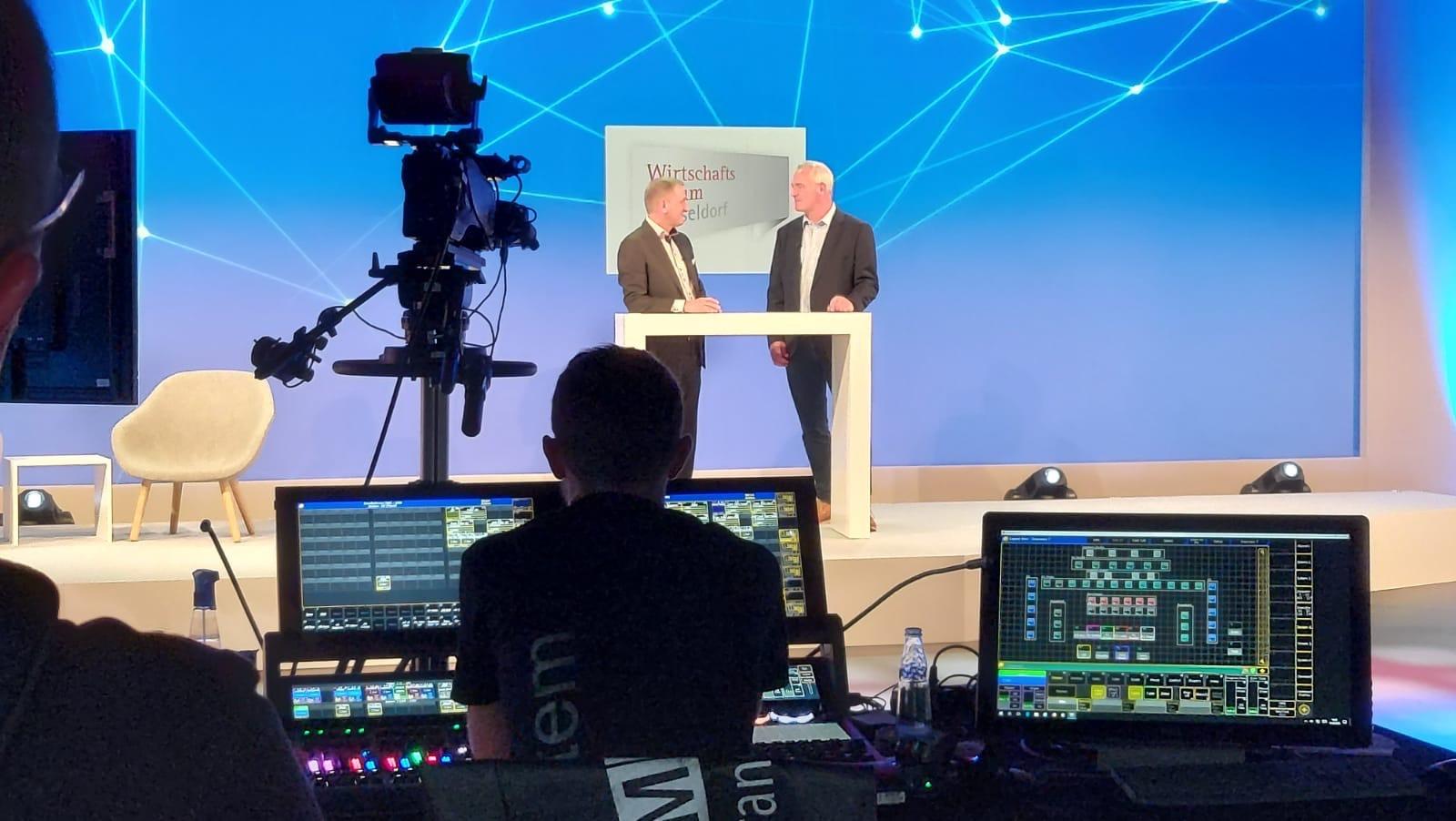 Aventem produziert Wirtschaftsforen für Düsseldorf und Münster