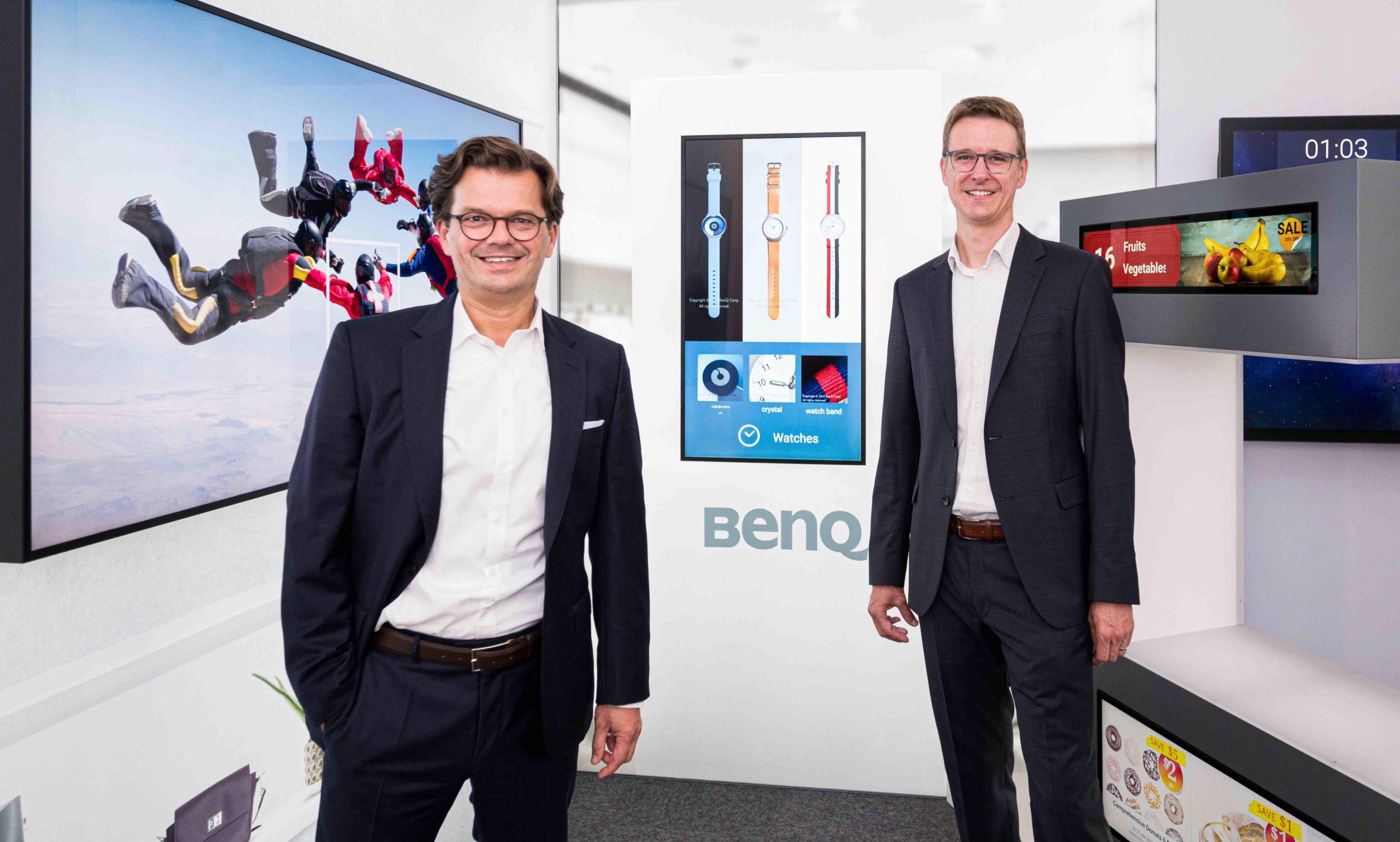BenQ eröffnet Showroom in Hamburg