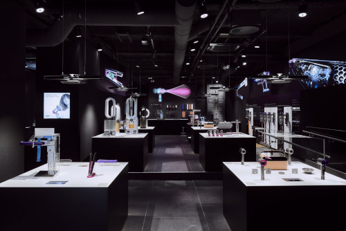 Neuer Dyson Demo Store in Hamburg eröffnet