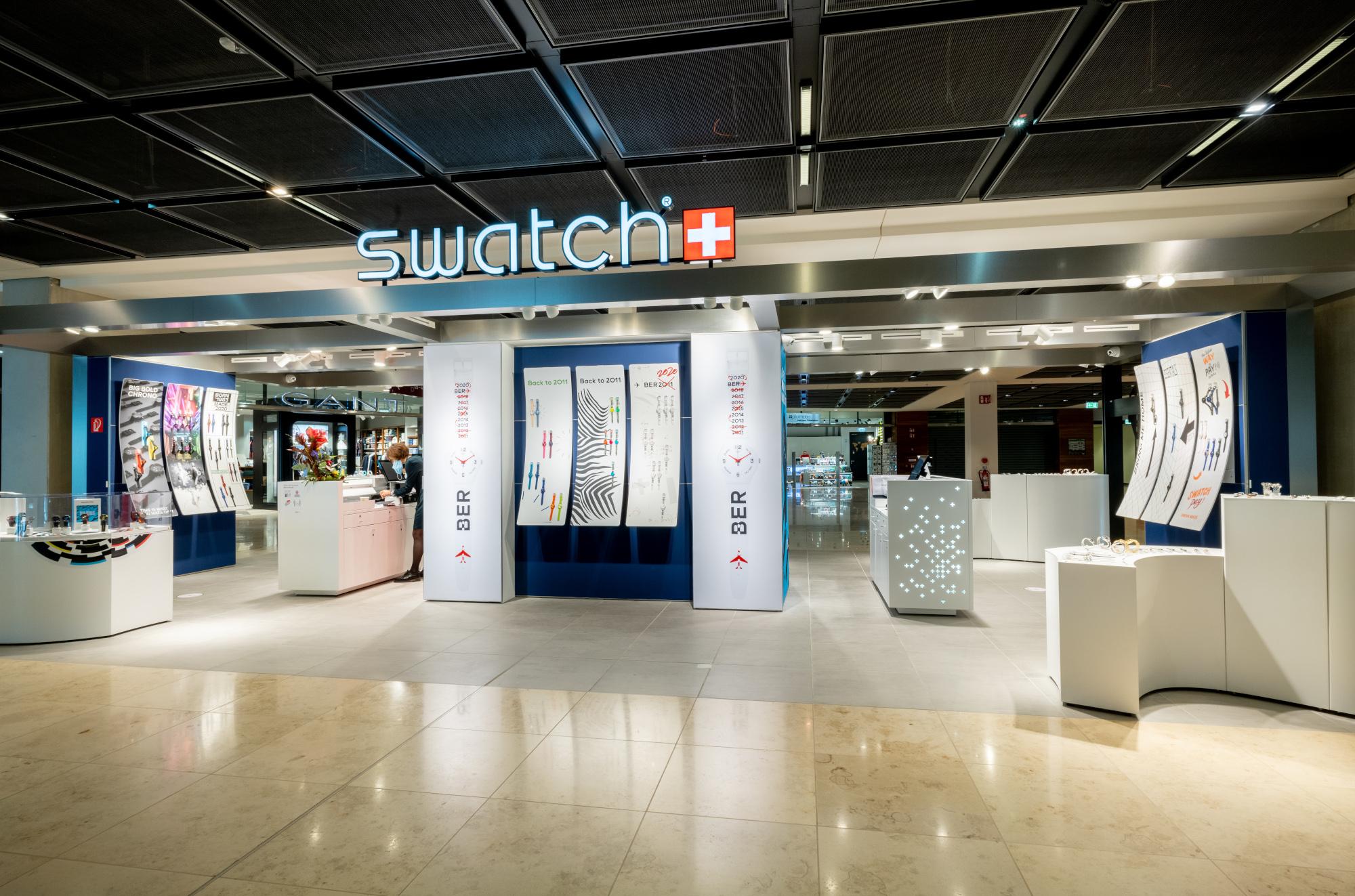 Swatch eröffnet Store am BER