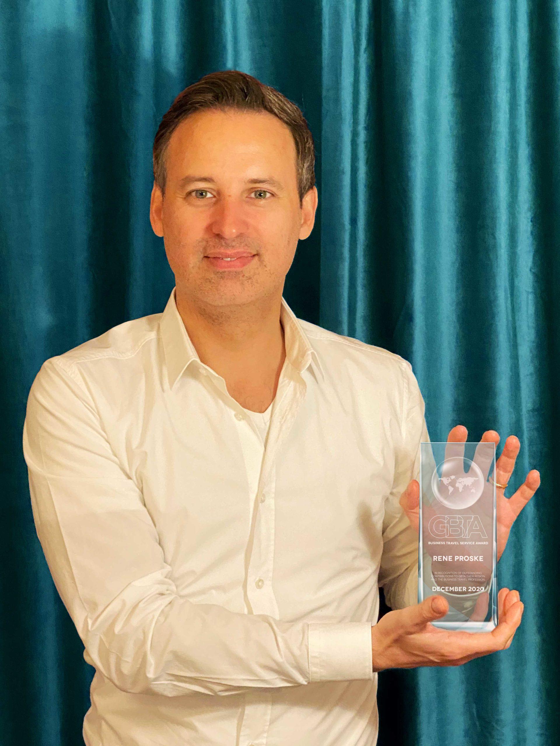 René Proske mit GBTA Award ausgezeichnet