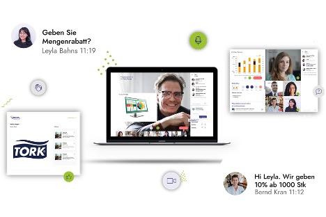 Lyreco Deutschland digitalisiert Sales Convention