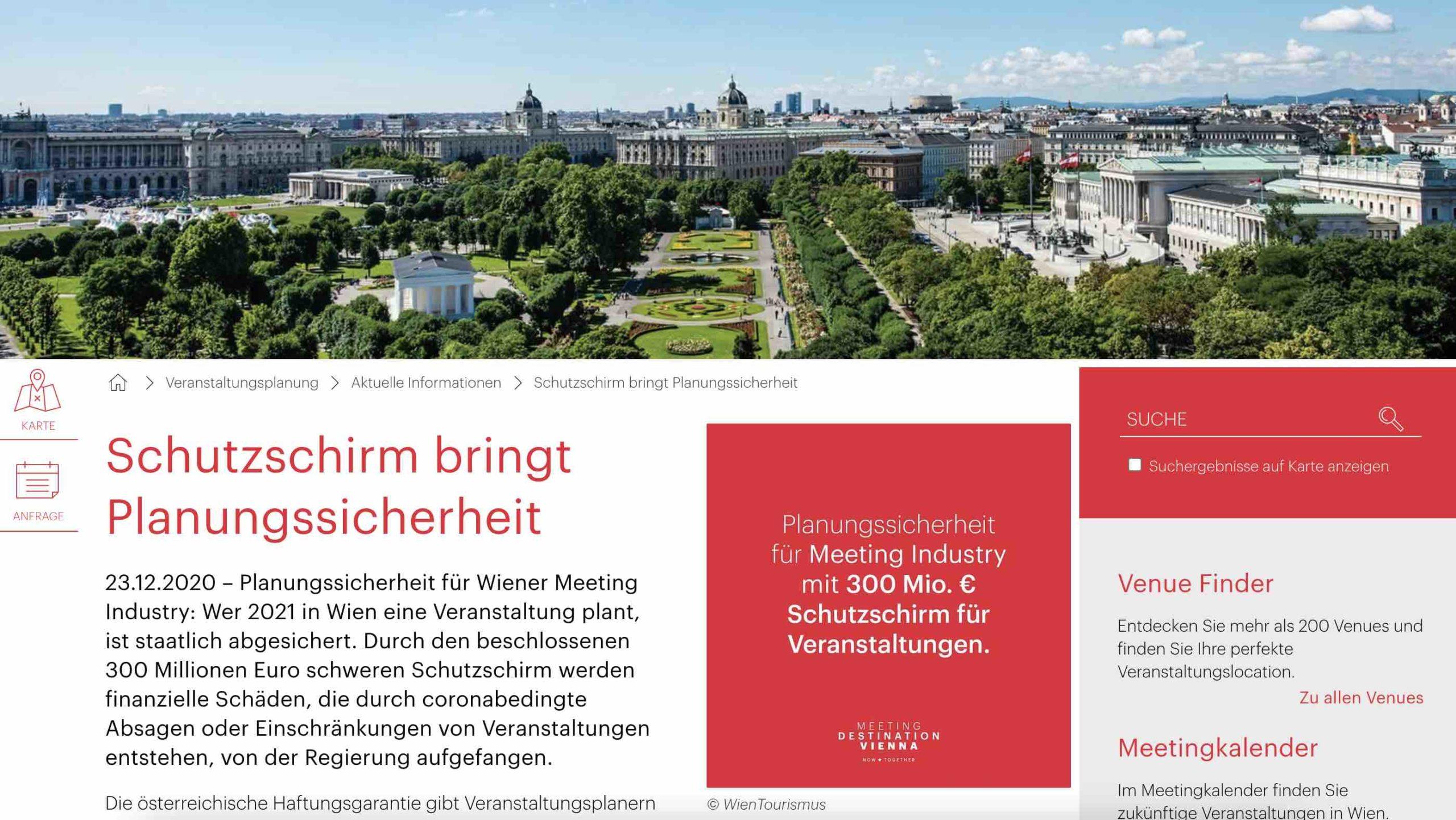 Österreich sichert Events mit 300 Mio. Euro ab