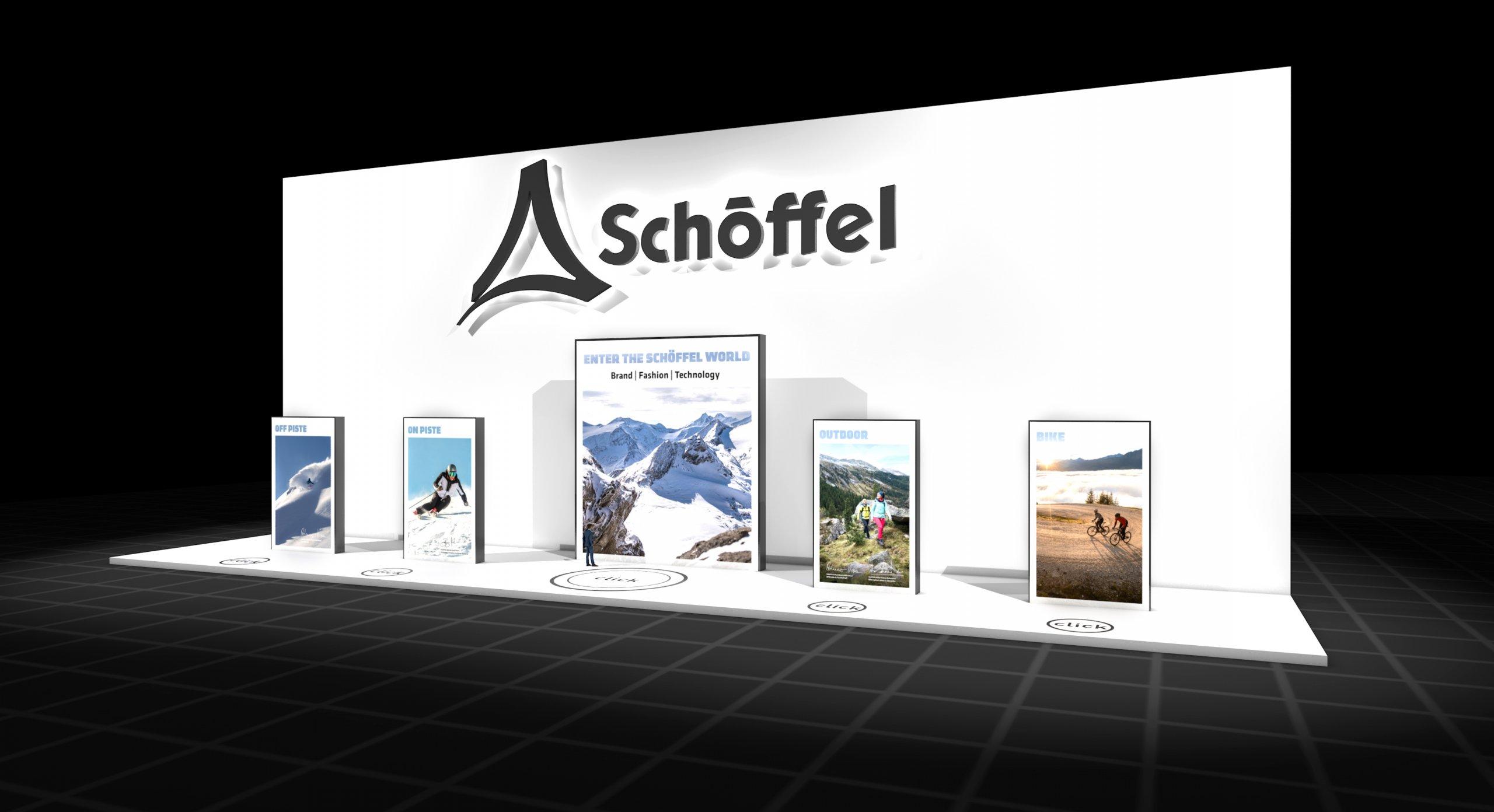 Virtuellen Markenraum von Schöffel (Foto: Meplan GmbH)