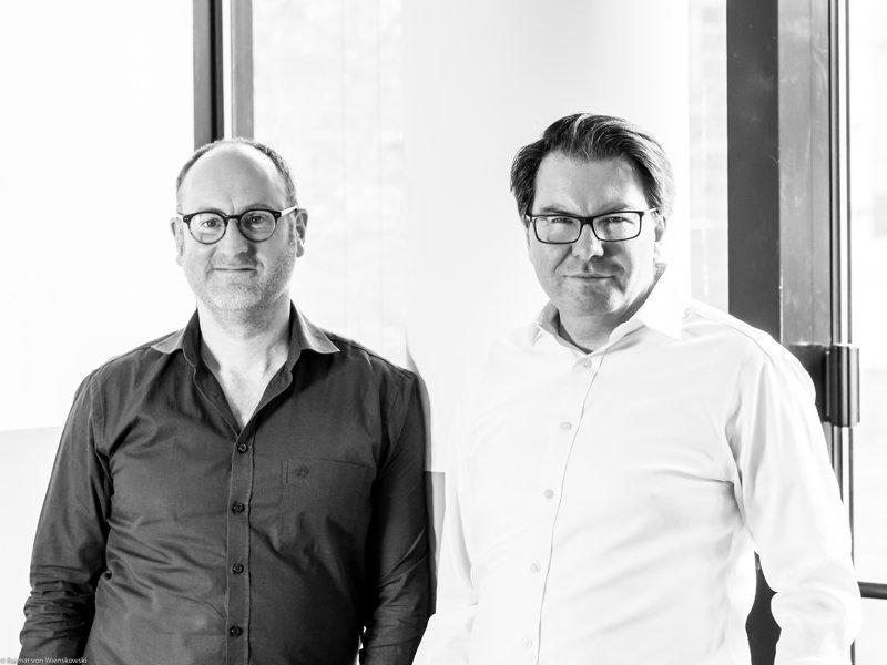 Hannes Fehr, Michael Mollath (von links, Foto: Raimar von Wienskowski)