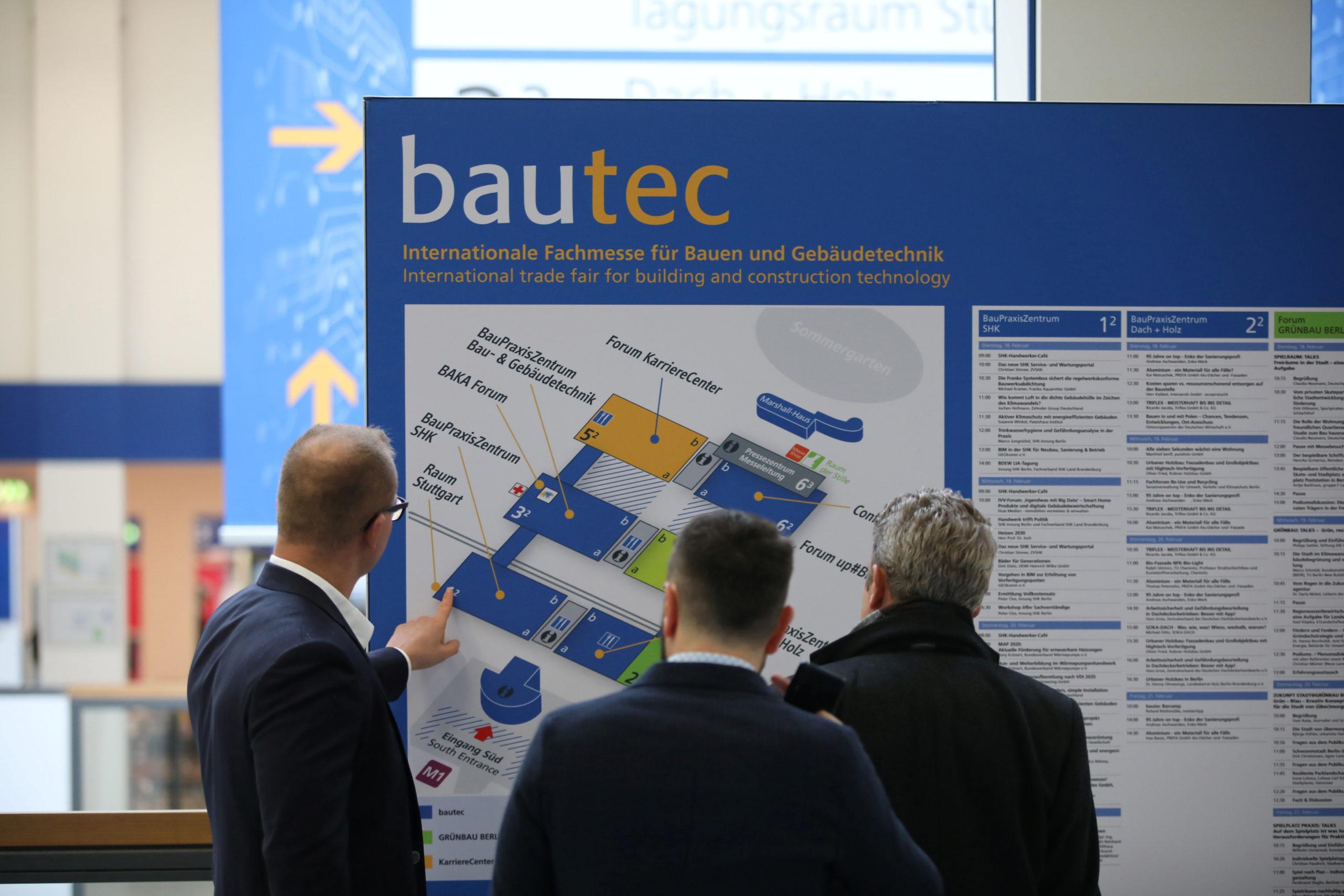 bautec in 2020 (Foto: Messe Berlin)