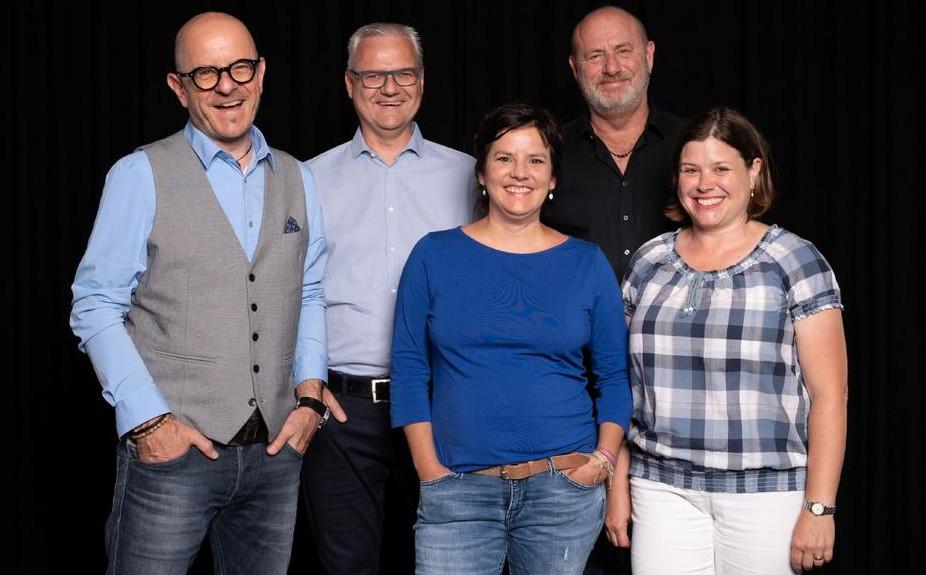 Peter Plan (links) und das Team der event-ex ag (Foto: event-ex ag/Ajas Kulici)