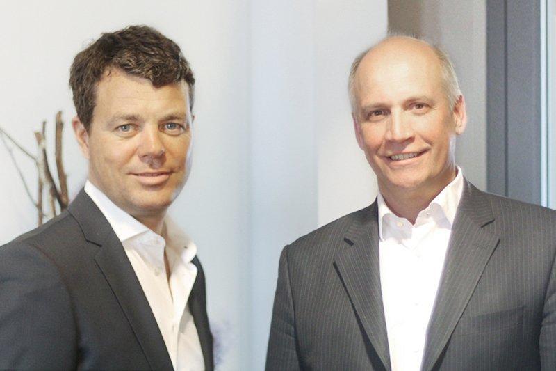 Dr. Thomas Köhl, Christoph Rénevier (von links, Foto: Fleet Events)