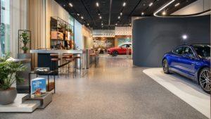 Porsche Studio in Hanoi (Fotos: Porsche)