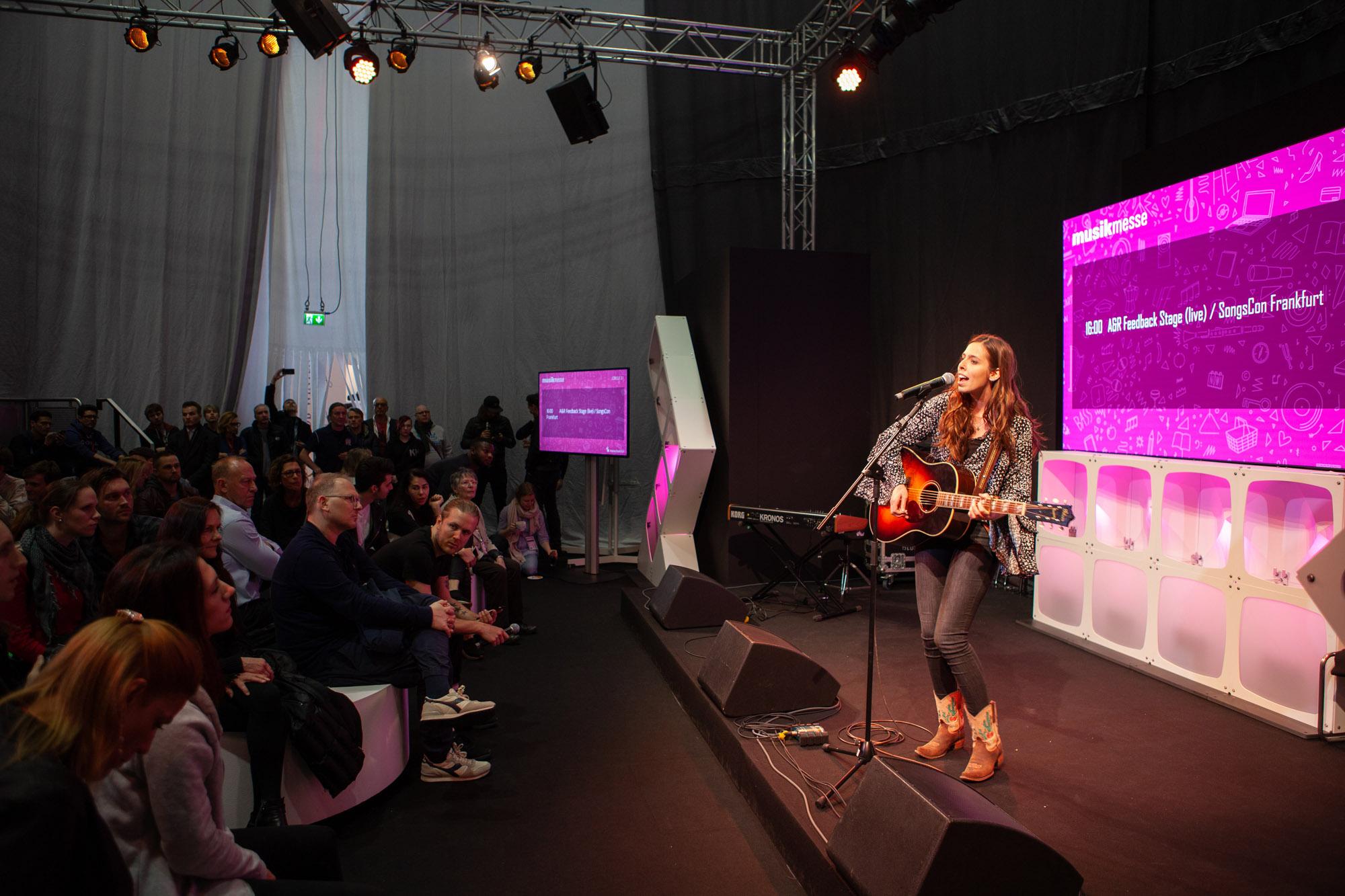 Performance bei der Musikmesse (Foto: Robin Kirchner)