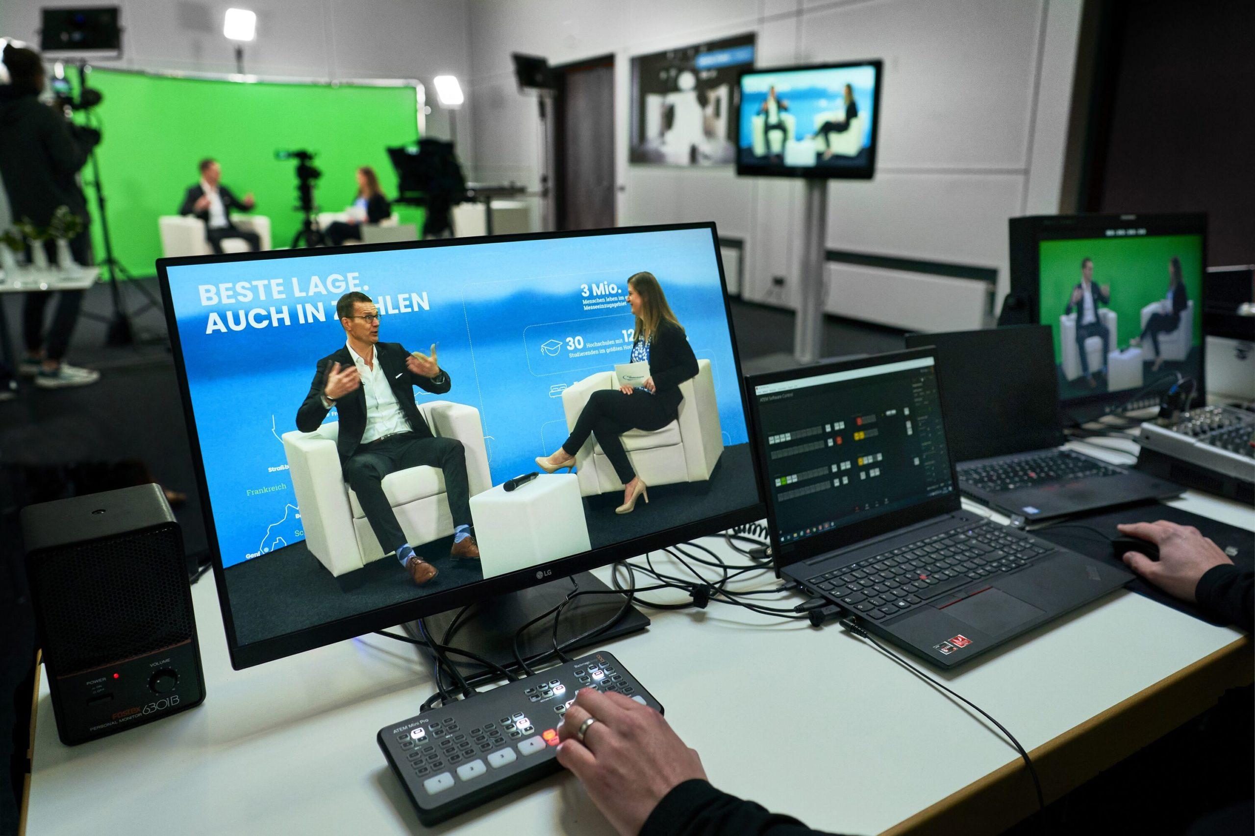 Digital Studio (Fotos: Messe Friedrichshafen)