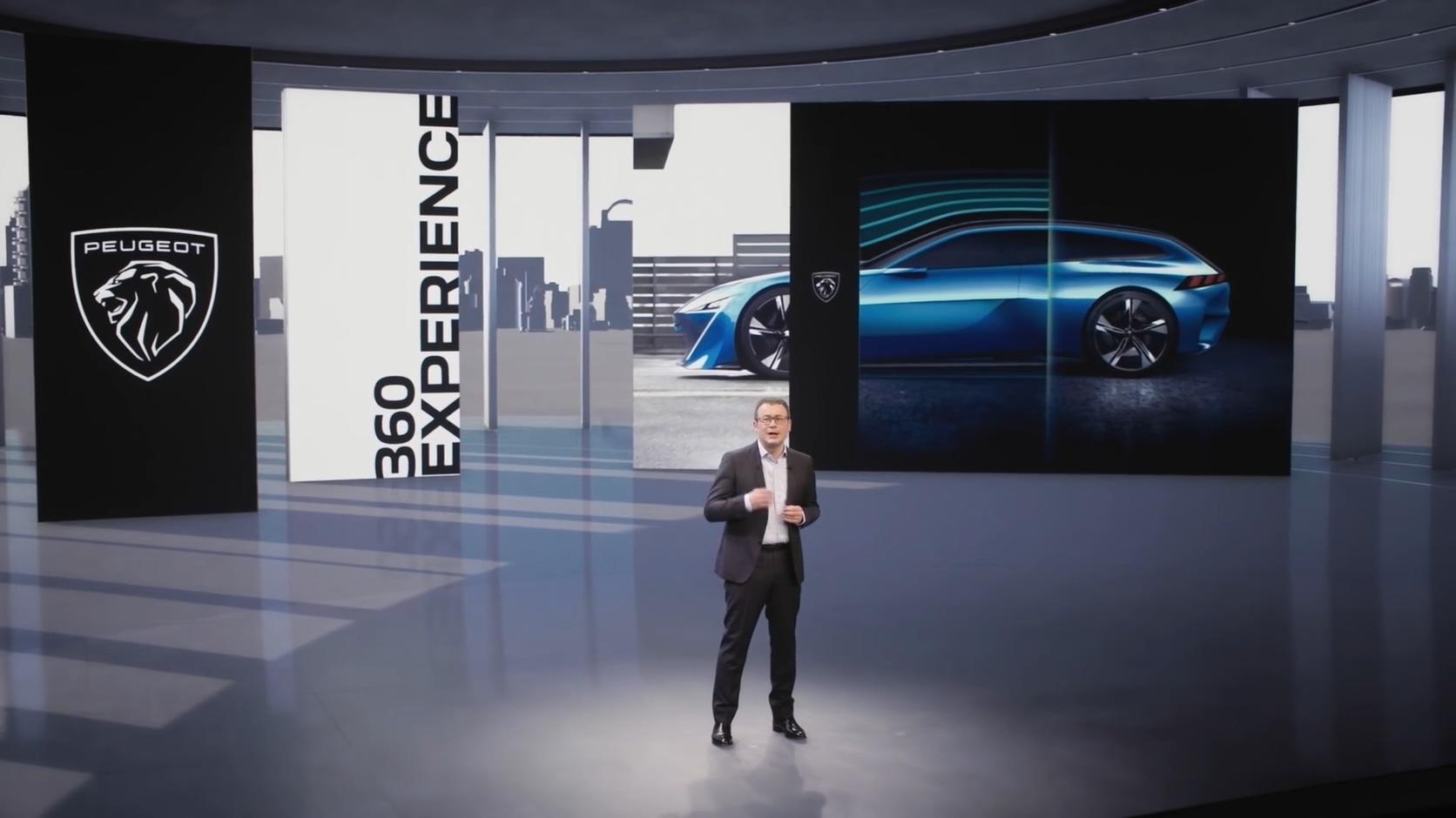 Präsentation der neuen Markenidentität (Screenshot: Peugeot)