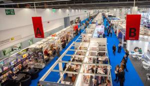 Messehalle in 2018 (Foto: Anett Weirauch/Frankfurter Buchmesse)