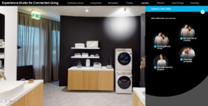 Digitaler Showroom (Fotos: Samsung)