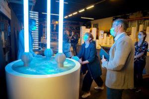 Exponate am Deutschen Pavillon eingetroffen (Fotos: German Pavilion Expo 2020/Ute Grabowsky)