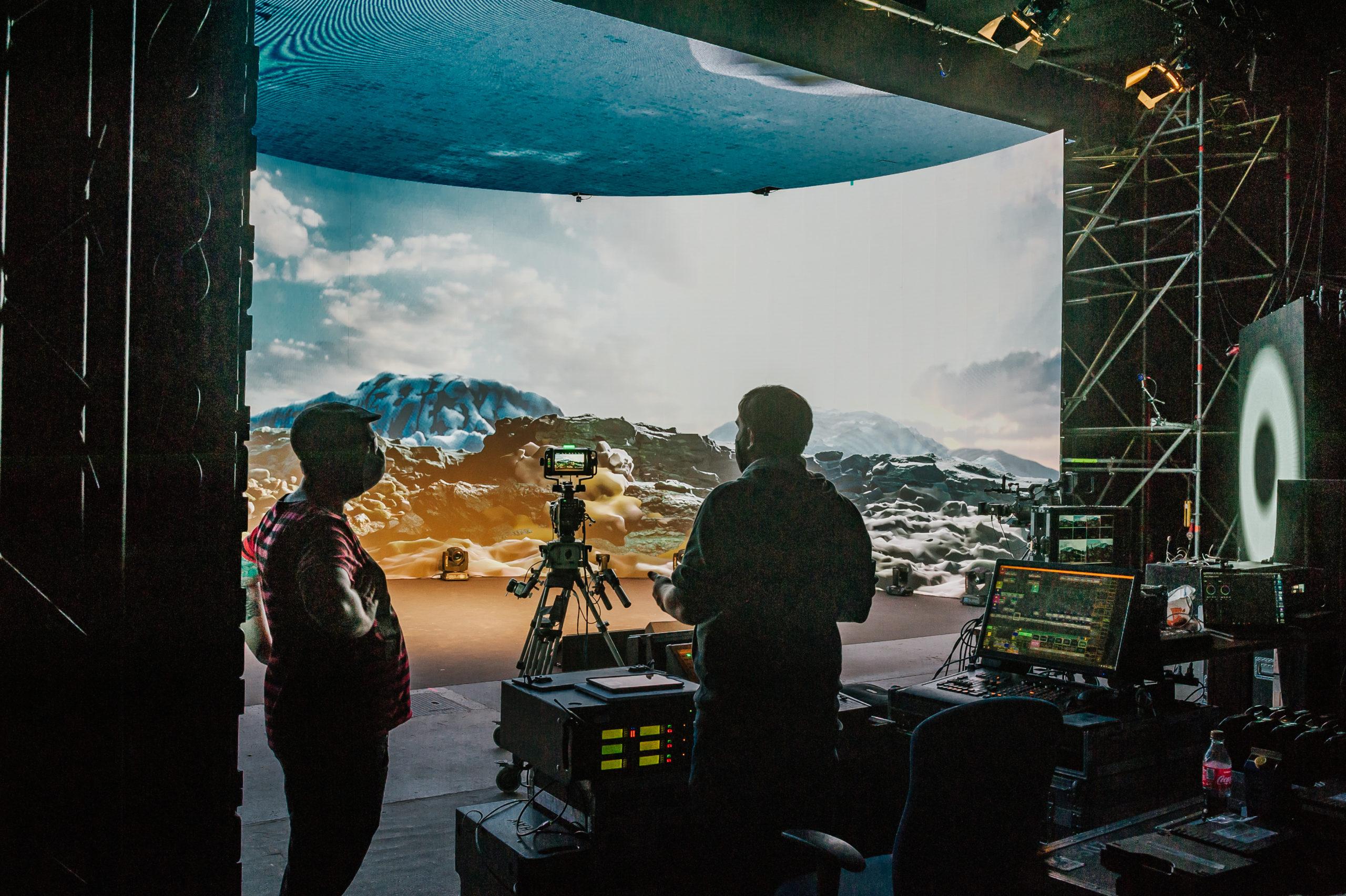 Virtual Production Studio Vienna (Foto: Leonardo Ramirez-Castillo)