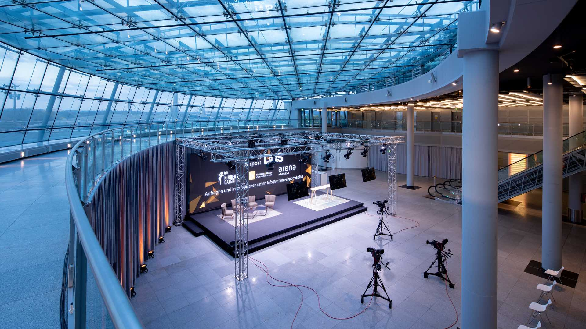 "Düsseldorfer Event-Location ""Station Airport"""