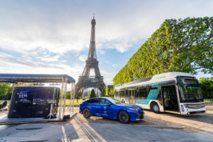 Paris de l'hydrogene (Fotos: Toyota)