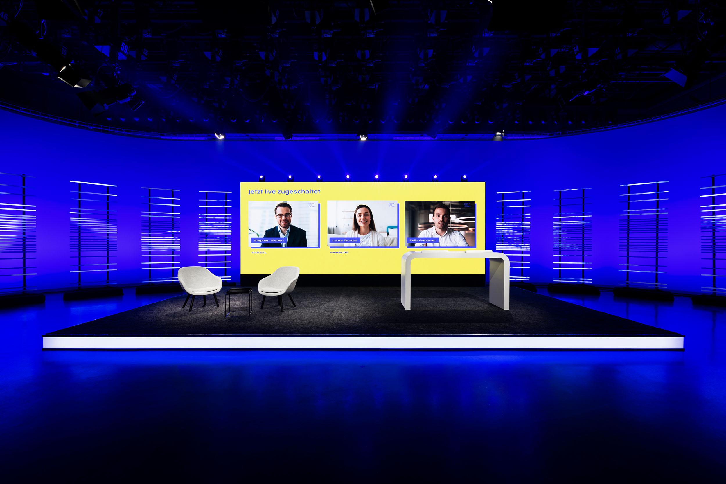 Elation KL Panel in den Better Now Studios von Ambion