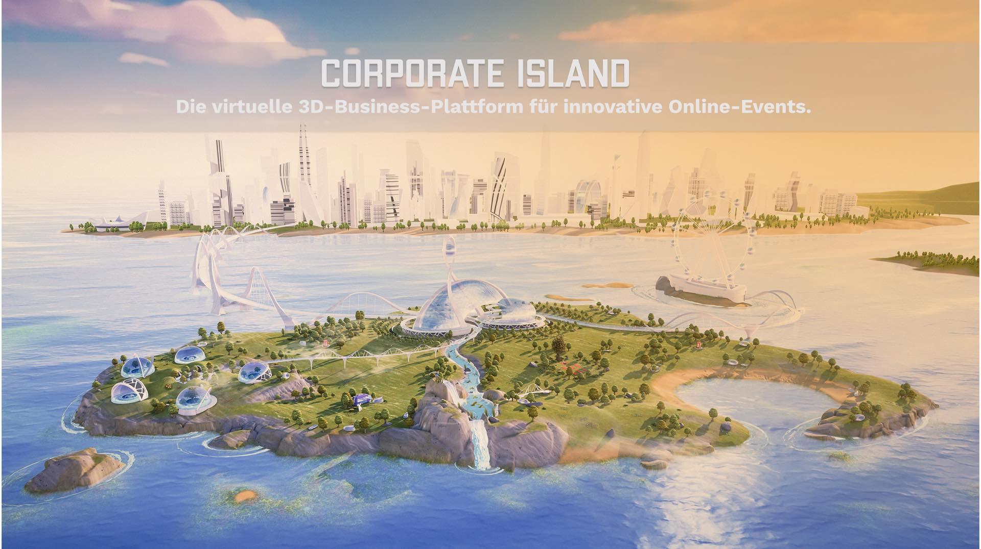 Key Visual von Corporate Island