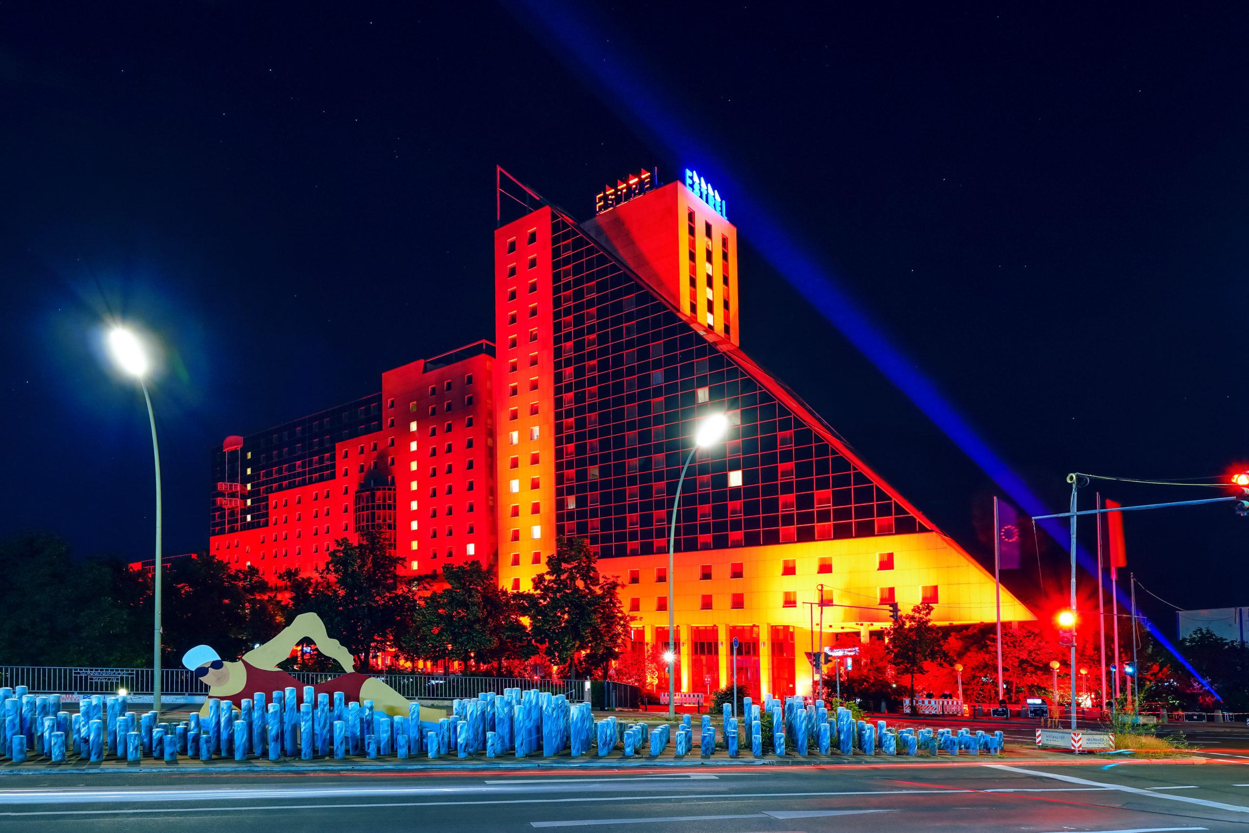 Estrel Berlin bei der Night of Light