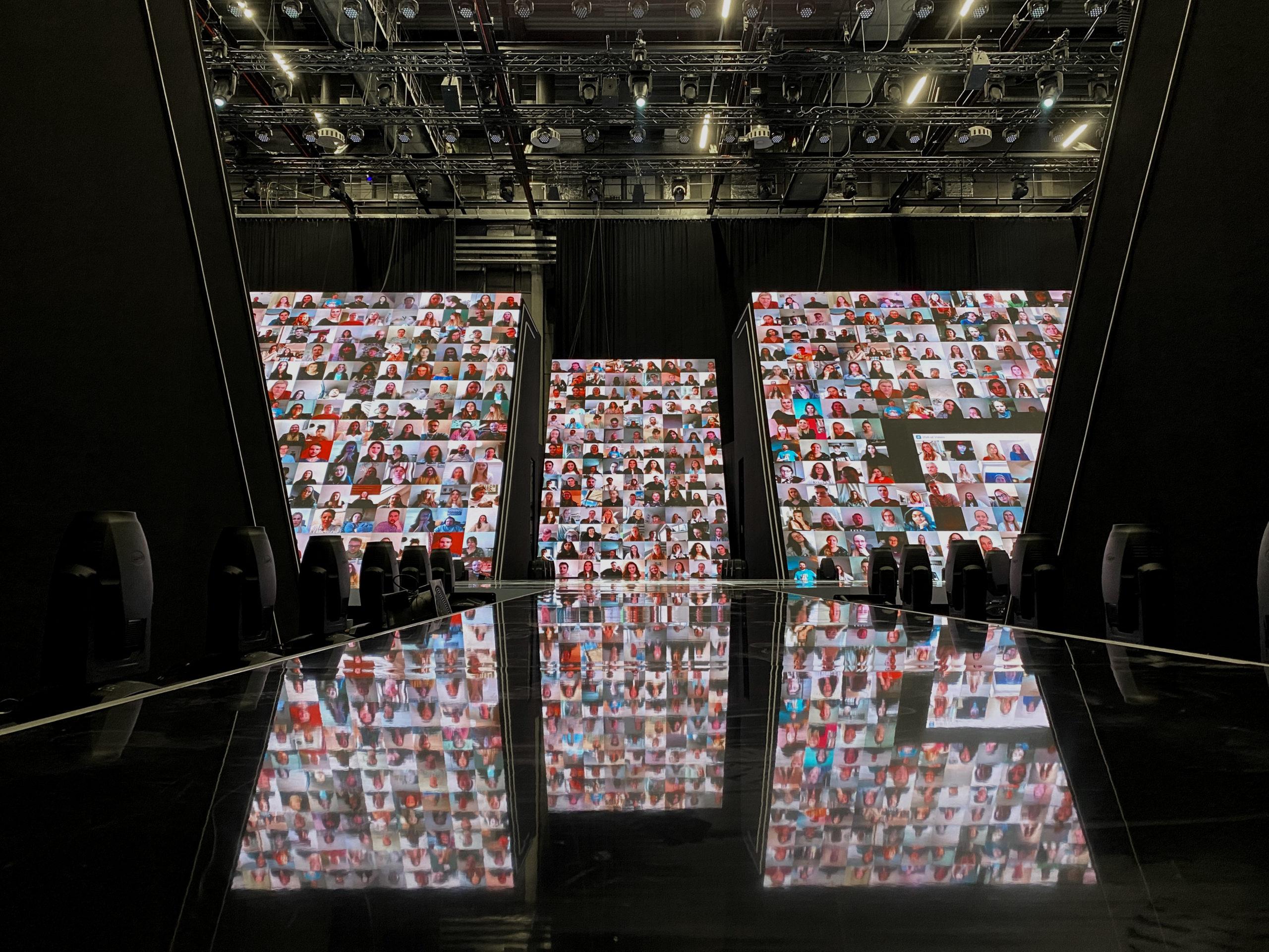 Virtuelle Zuschauer (Foto: ICT AG/alfaview GmbH)