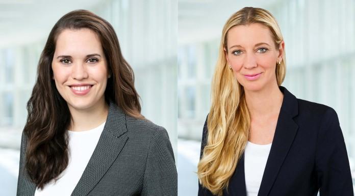 Sarah Heil, Nicole von der Ropp (von links, Foto: Messe Berlin)