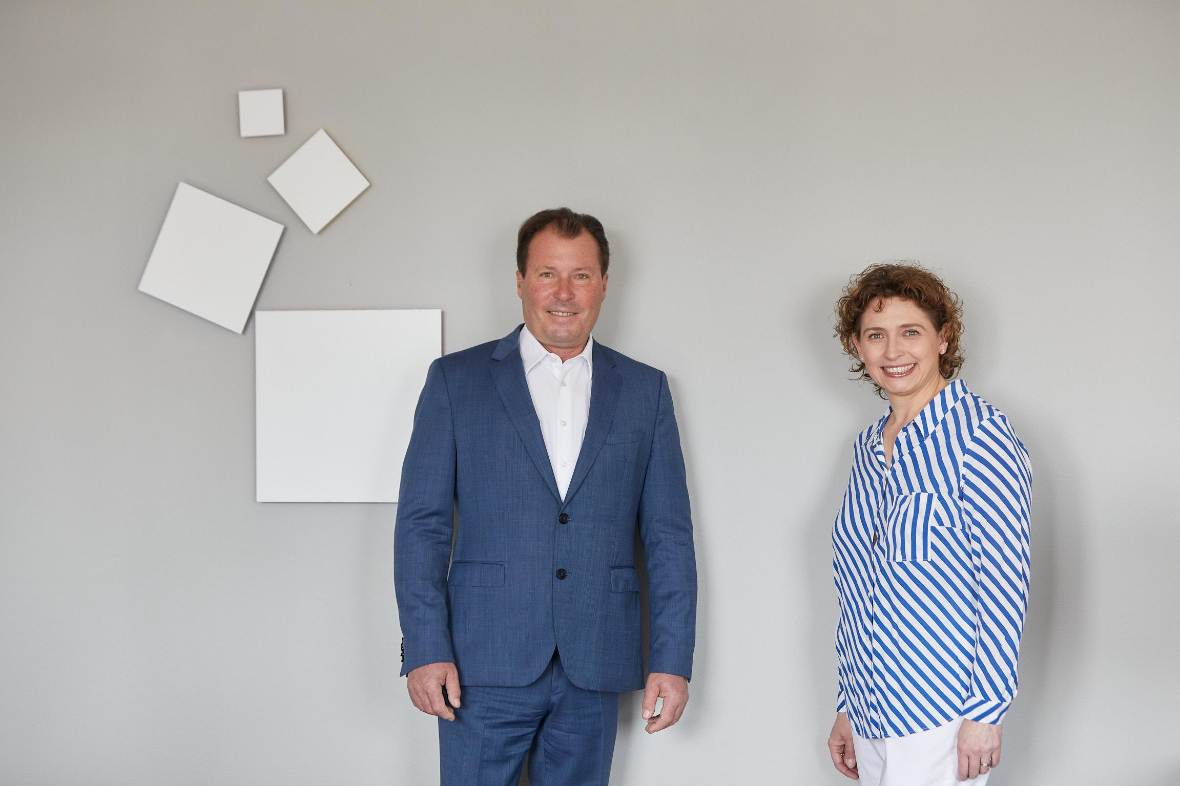 Wolfgang Marzin und Nicola Beer (Foto: Messe Frankfurt/Jean-Luc Valentin)