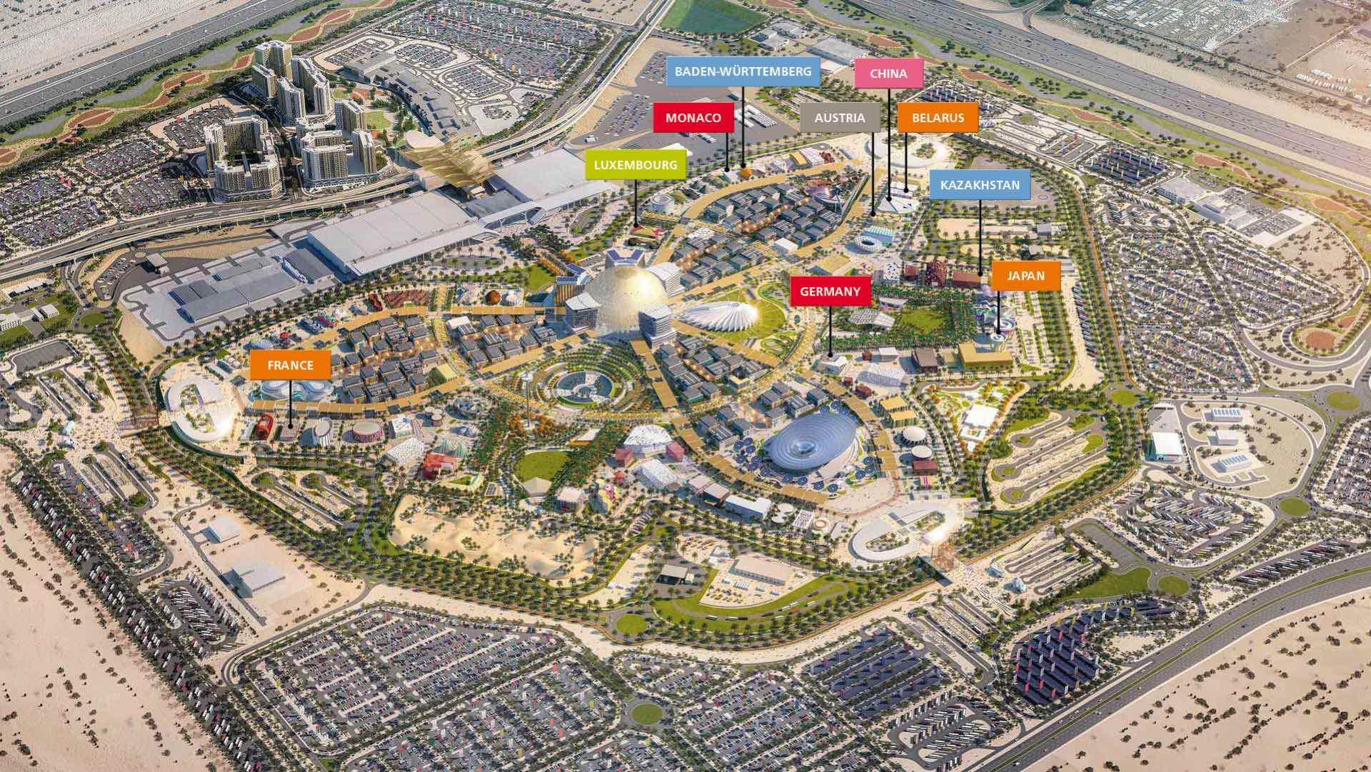 Nüssli bringt zehn Expo Pavillons auf Kurs
