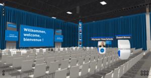Virtuelle Gartenhalle