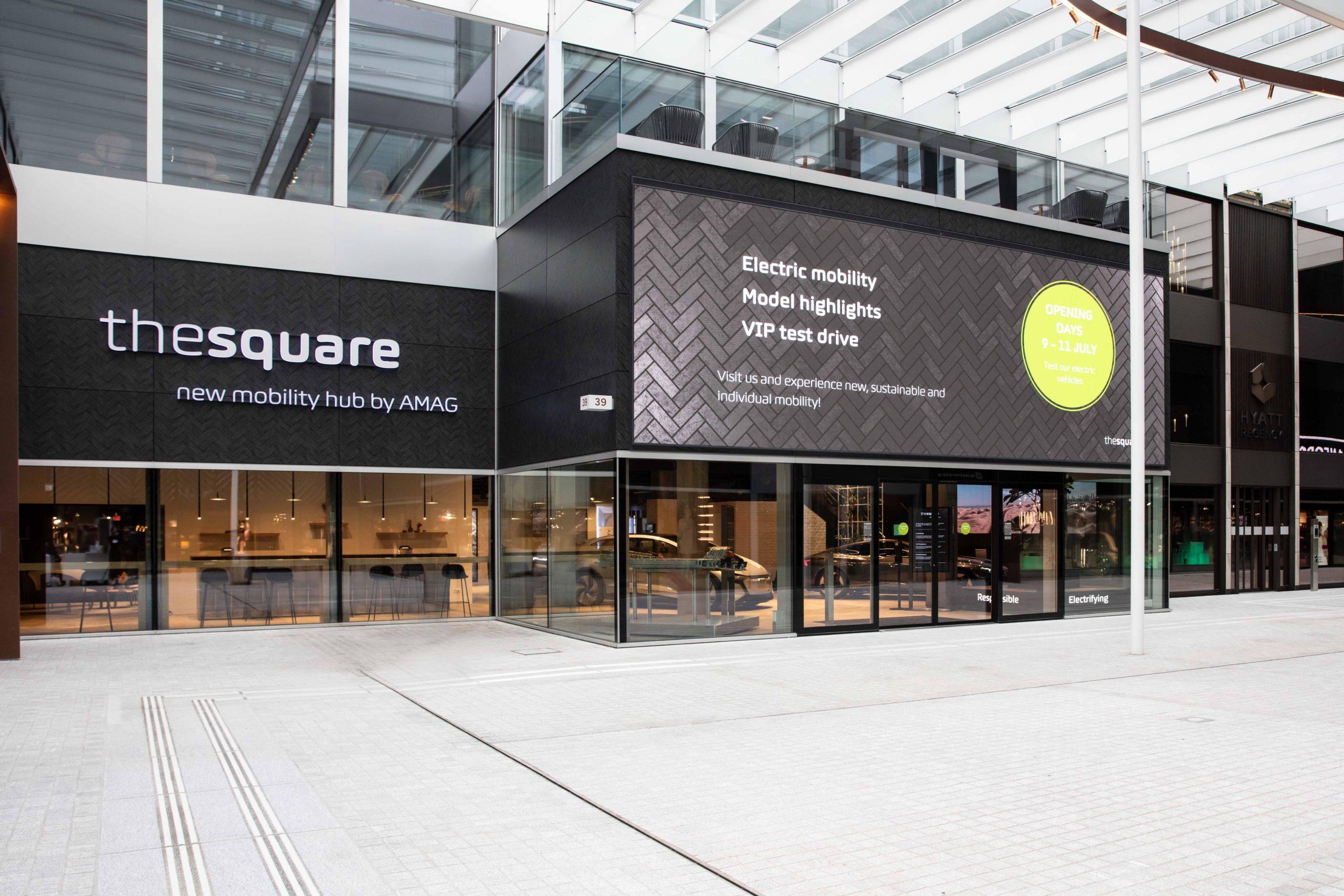 the square (Fotos: AMAG)