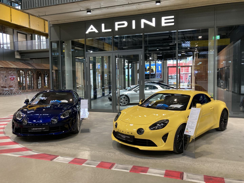 Alpine Showroom (Fotos: Renault Deutschland)