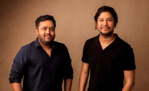 Hubilo Gründer Mayank Agarwal und Vaibhav Jain (von links, Foto: Hubilo)
