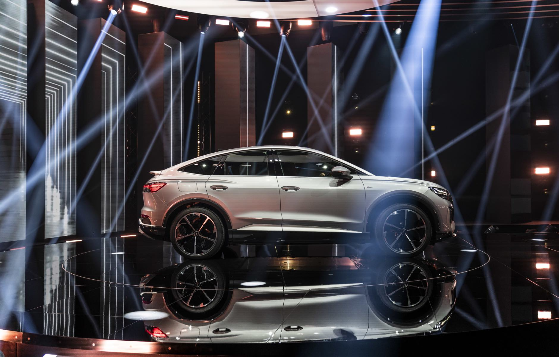 Audi Q4 e-tron mit marbet